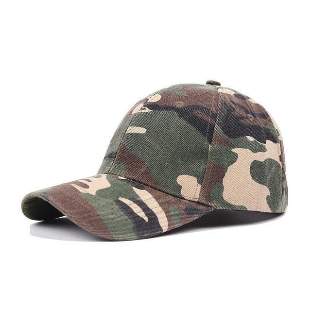 Fashion 1PC Camouflage High Quality Police Cap Unisex Hat Baseball Cap Men Snapback Caps Adjustable Sports Snapbacks