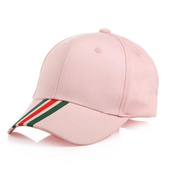 Fashion Pasted Strip Cotton Breathable Outdoor Sport Baseball Cap For Unisex Adult Boys Summer Hats Men Snapback Hip Hop
