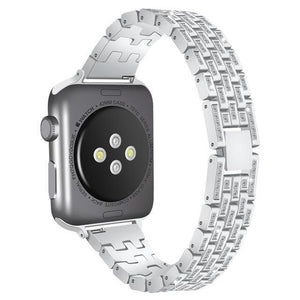 New Apple Watch band 38mm 42mm Stainless Steel Metal Replacement Wristband Sport Strap for Apple Watch Nike+, Series 3, Series 2