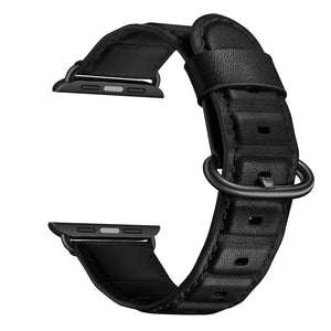 Genuine leather strap for apple watch band 42mm 38mm 44mm 40mm iwatch series 4 3 2 1 accessory replacement bracelet belt