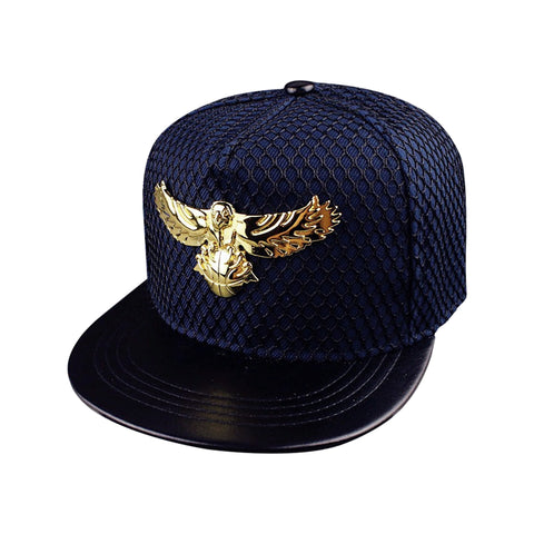 new arrival Golden Eagle Hats Round Baseball Hip Hop Cap
