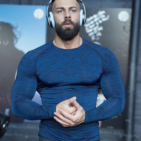 gym full sleeve t-shirt for men, gym clothes or wear