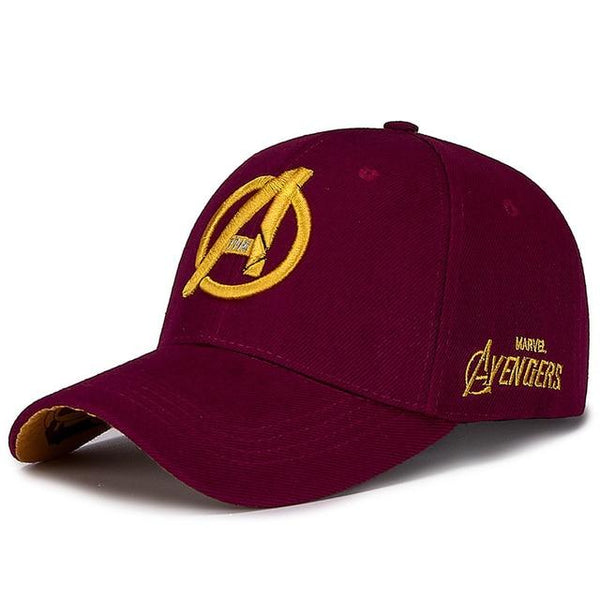 Avengers Embroidery Baseball Caps Sports Snapback Hats