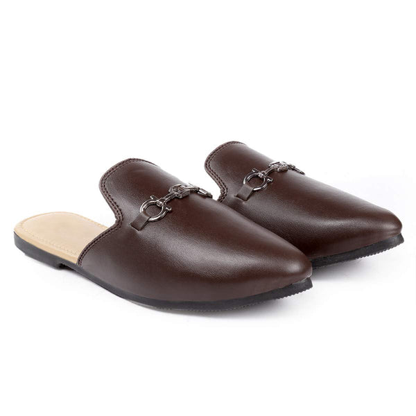 Treemoda Brown Mules for Men/Boys