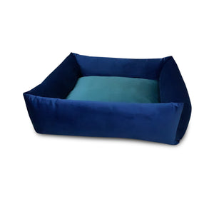 Premium Quality Super Soft Dog Bed Blue