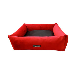 Premium Quality Super Soft Dog Bed Red