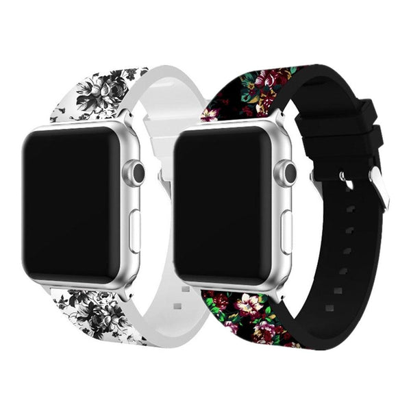 Silicone strap for apple watch band 42mm 38mm iwatch band 44mm 40mm bracelet watch correa rubber watchband for apple watch 4 3 2