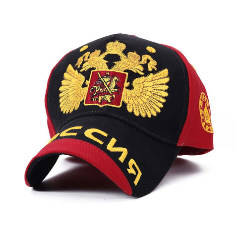 Designer Russian National Emblem Embroidered Baseball cap