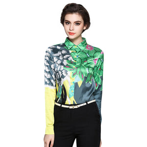 Women Western Wear Long Sleeve Shirt.
