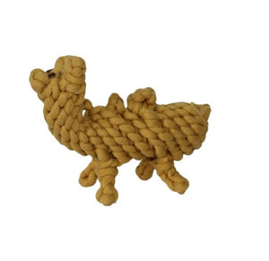 Premium Quality Natural Rope Camel Toy for Dogs