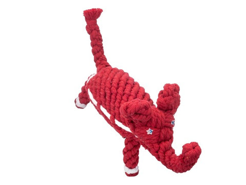 Premium Quality Natural Rope Republican Elephant Toy for Dogs