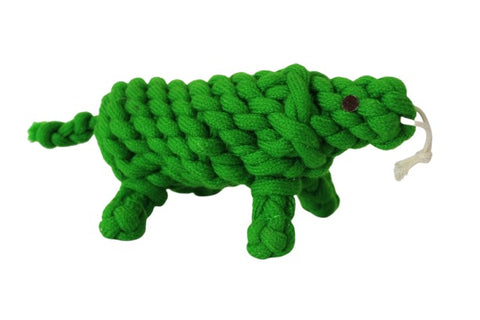 Premium Quality Natural Rope Turtle Toy for Dogs