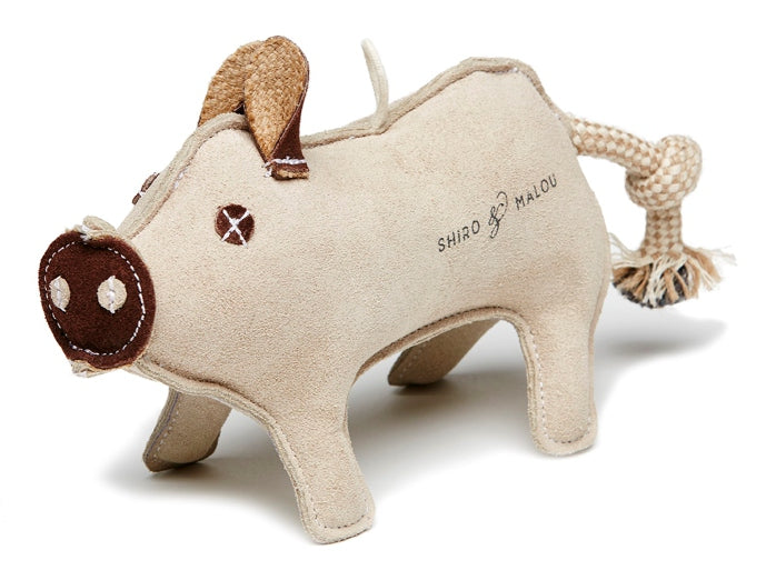 Premium Quality Natural Wigglies Pig Leather Toy for Dogs