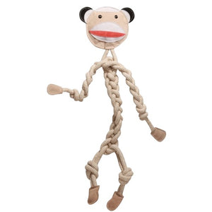 Premium Quality Natural Knotted Ropies Monkey Toy for Dogs