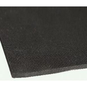 EPDM Rubber Sheet Fabric Finish 3mm x 1.5 Meter x 10 Meter - Industrial Rubber Sheet