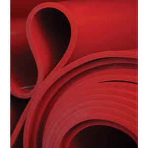 Pure Gum Rubber Sheet Red 8mm x 1.5 Meter x 10 Meter - Tangum Abra NR Rubber Sheet Suppliers In UAE