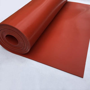 Silicon Rubber Sheet Red 3mm x 1.2 Meter x 10 Meter - Rubber Sheet Suppliers