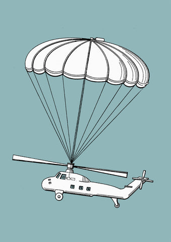 Helicopter Parachute