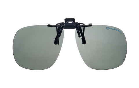 Black Bullet Gray Polarized Clip-On - 1570K