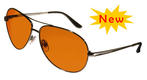 BluBlocker Pewter Wire Polarized - 4200K