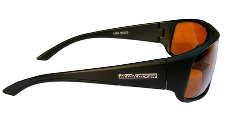 BluBlocker Black Nylon Sport Polarized - 4203K