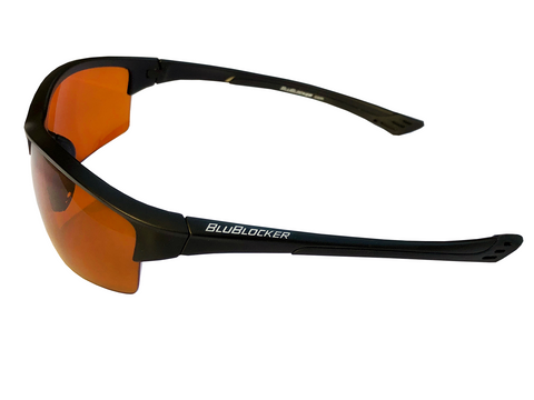 BluBlocker™ Black Stinger Polarized- 4213K