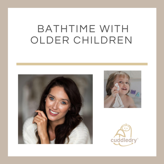 Bathtime with Older Children