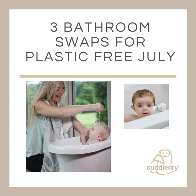Three Easy Bathroom Swaps for Plastic Free July