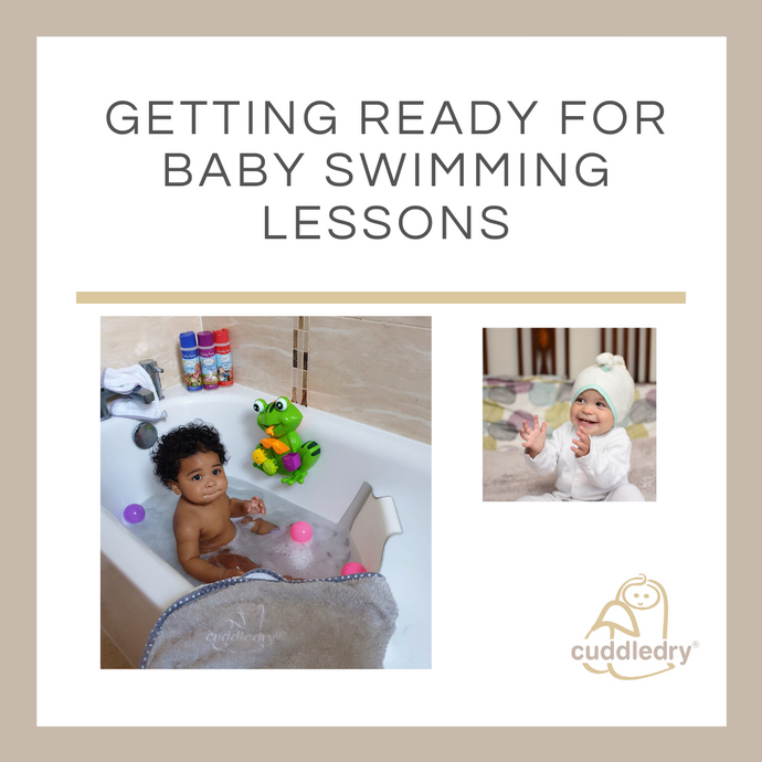 Getting Ready for Baby Swimming Lessons