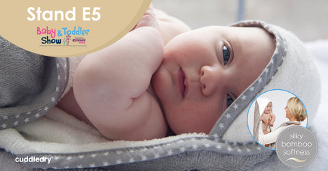 Tips for Visiting the Baby & Toddler Show_Cuddledry on stand E5 Manchester