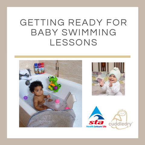 Getting Ready for Baby Swimming Lessons_Cuddledry.com