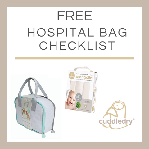 Free Hospital Bag Checklist_Cuddledry.com