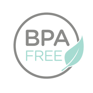 BPA free refillable bottles included in travel bag for families