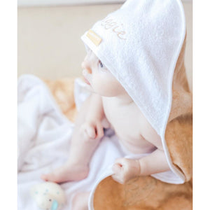 Cuddledry 'Hands-free' baby towel oatmeal