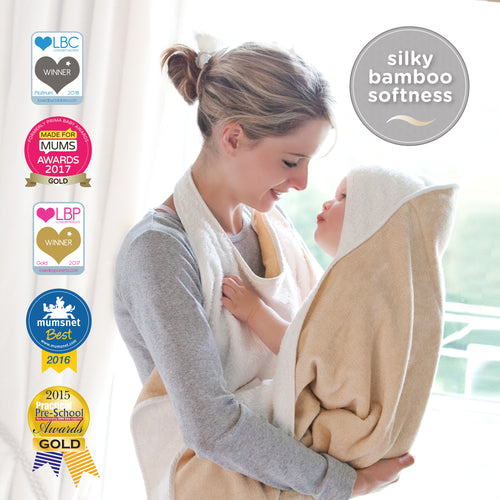 Multi-award winning handsfree towel by Cuddledry