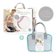 Load image into Gallery viewer, Handsfree towel & Baby&Me washbag Bundle