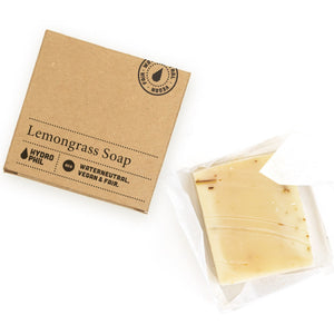 Natural Lemongrass soap by Hydrophil