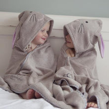 Load image into Gallery viewer, bunny rabbit costume towel for children made with cotton and bamboo