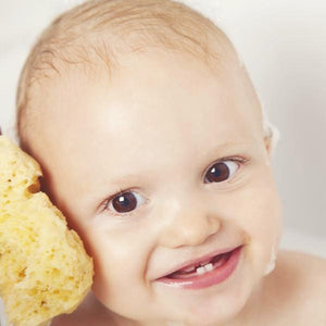 natural sponge for baby skin washing