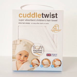 Cuddletwist hair wrap bamboo towel