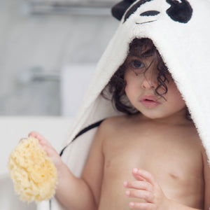 natural sea sponge for toddler bathtimes