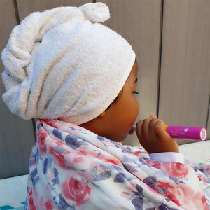 bamboo hair wrap for all ages