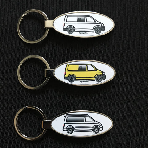 MyCamperVan T5 Keyring Bottle Opener