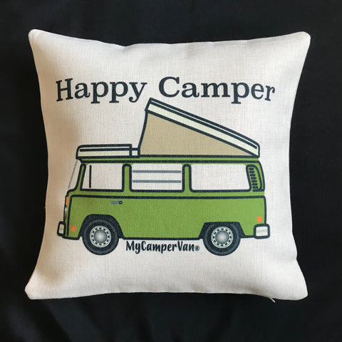 MyCamperVan T2 Bay Westy camper cushion Happy Camper