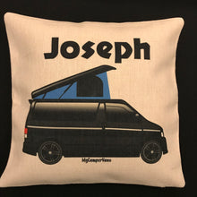 MyCamperVan personalised Bongo camper cushion cover