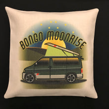 MyCamperVan Bongo campervan cushion cover Moonrise design