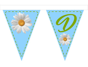 Fabric Bunting - Daisies