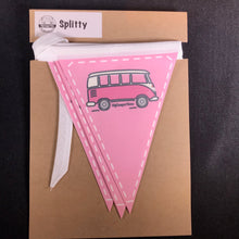 Clearance - Splitty Fabric Bunting
