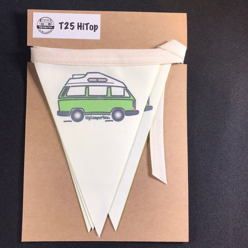 Clearance - T25 Fabric Bunting