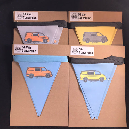 Clearance - T4 Fabric Bunting